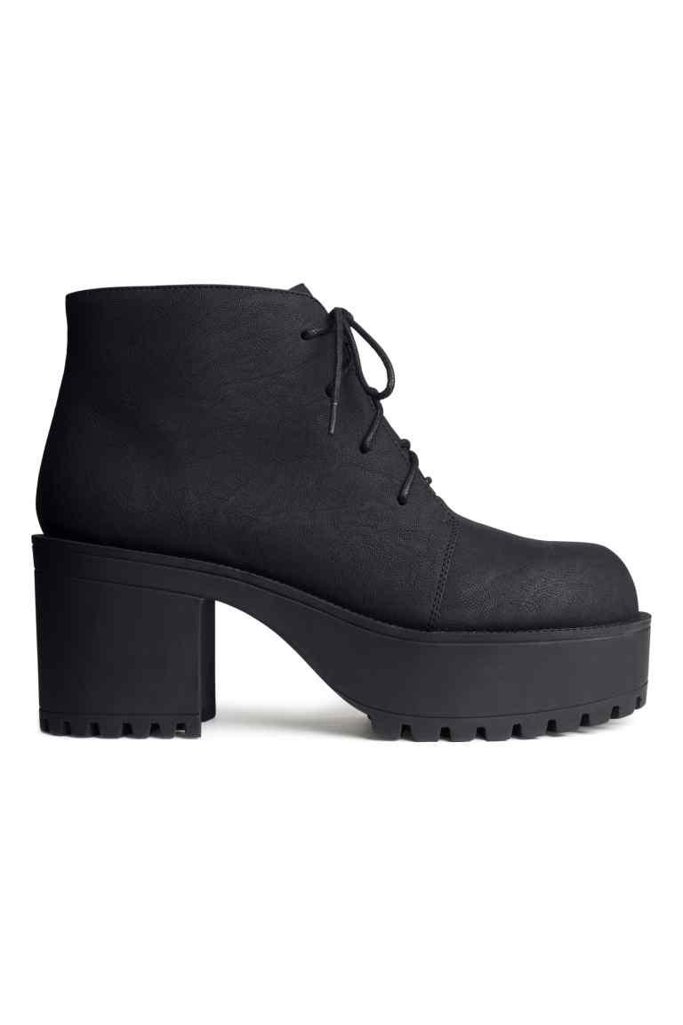 Chaussures à plateau