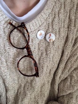sunglasses round frame glasses glasses vintage glasses animal print nerd glasses sweater jewels