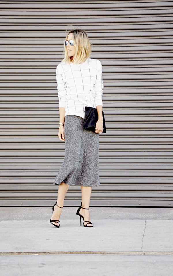 damsel in dior blogger skirt shoes bag