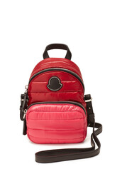 mini,quilted,backpack,leather,magenta,bag