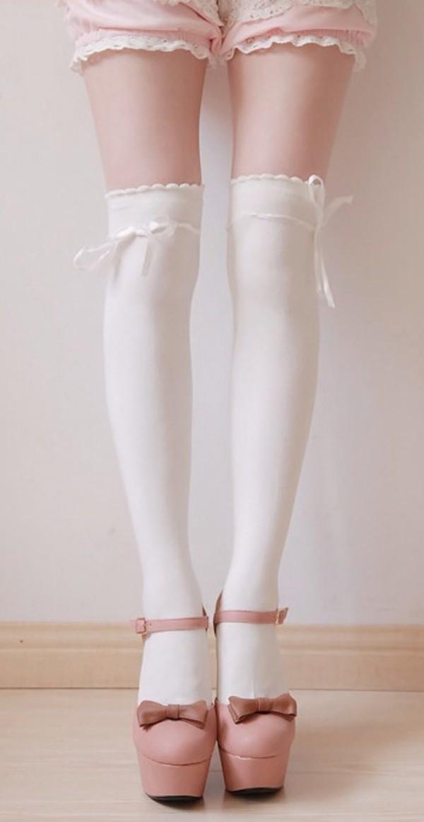 socks bows