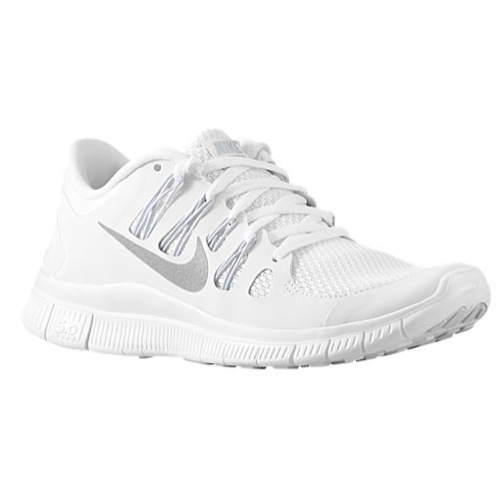 all white nike free 5.0 women