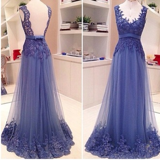 dress purple dress lace