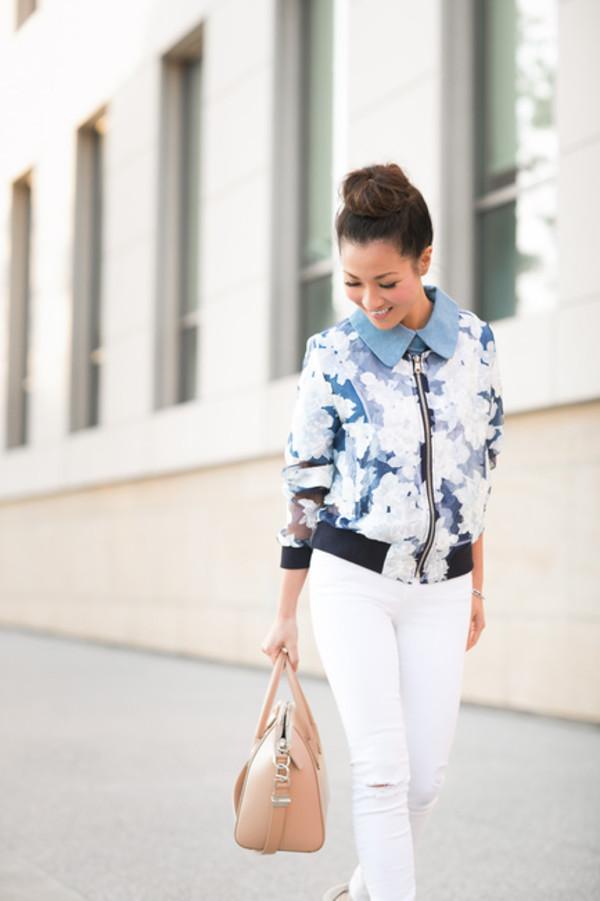 wendy's lookbook t-shirt jacket bag shoes jewels