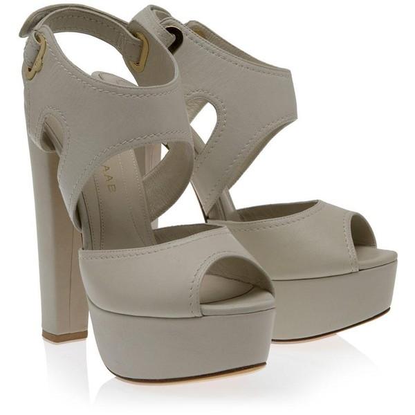 ELIE SAAB Cutout High Heels - Polyvore