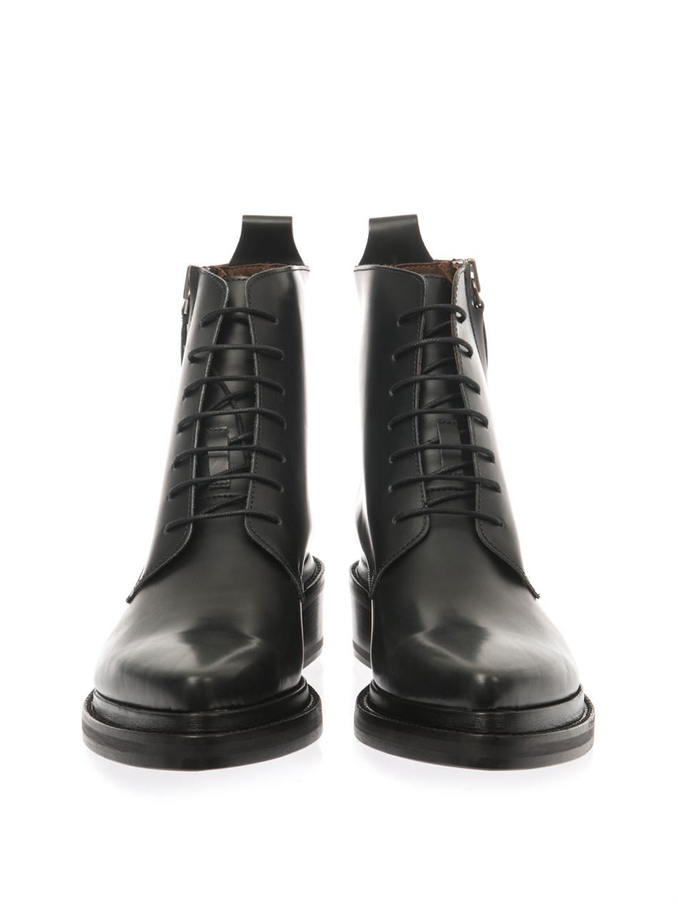 Linden leather boots | Acne Studios | MATCHESFASHION.COM