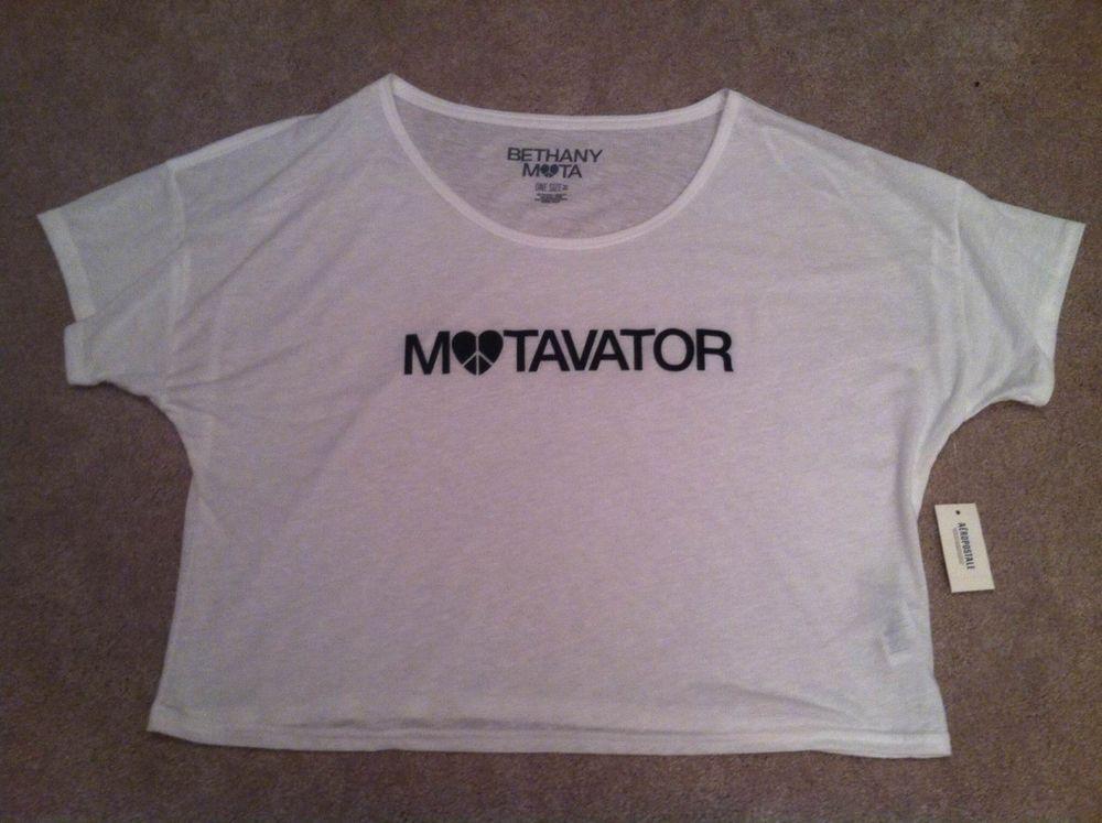 Bethany Mota Motavator Shirt One Size | eBay