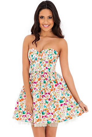 Vintage Inspired Floral Sundress