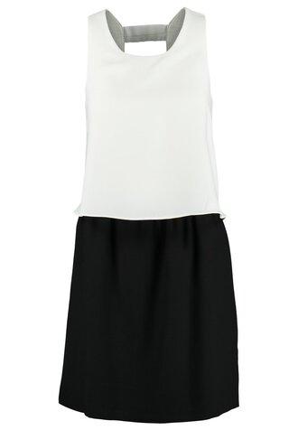 dress black and white formal black white
