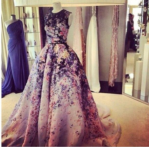 dress flower dress promdress
