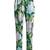 Ortensia-print charmeuse pyjama trousers