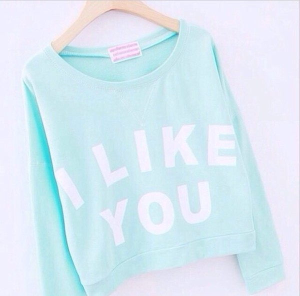 colorful mint sweater style