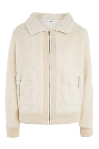 jacket bomber jacket style cream
