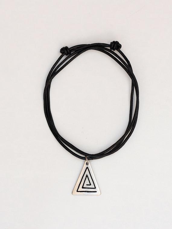 Choker Necklace Pendant Statement Locket Cord by ChokerNecklace