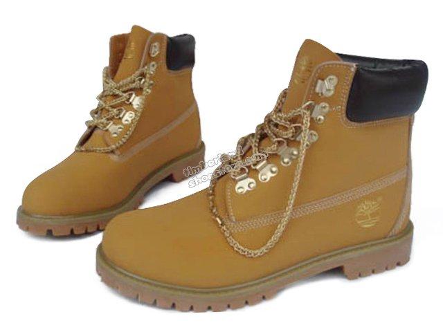 Mens Timberland 6 Inch Boots Brown With Yellow Logo [land260189] - $90.61 : Timberland Shoes, Timberland Boots Womens