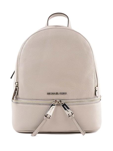 Michael Kors Small Rhea Backpack in grey
