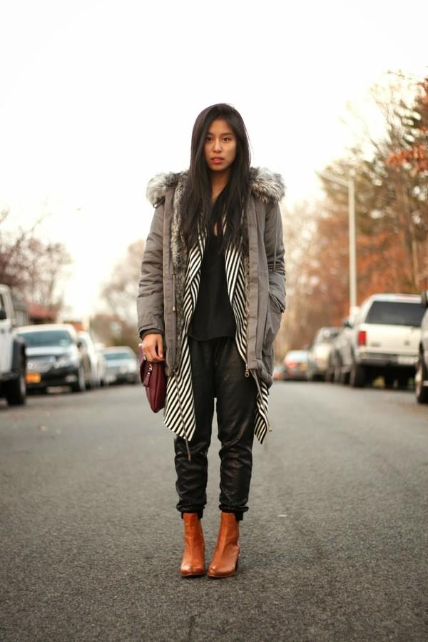 kristenglam jacket tank top pants bag shoes jewels