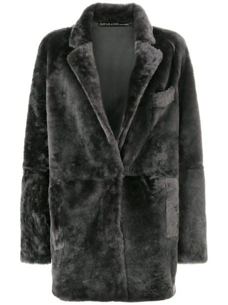 32 PARADIS SPRUNG FRÈRES coat women grey