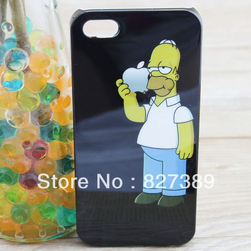 for iphone 5 case Homer simpson cell phone cases covers to iphone5-in Phone Bags & Cases from Electronics on Aliexpress.com
