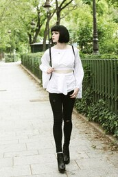 mahayanna,blogger,blouse,shoes