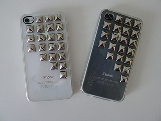 metal phone jewels iphone phone cover iphone 5 case shirt