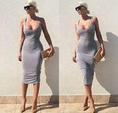 beige dress,dress,cotton,fashion,style,grey,mint,hoodie,grey dress,bodycon dress,summer dress,midi dress,jersey,jersey dress