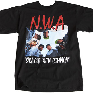 Straight Outta Compton Official N.W.A. - Mens T-Shirt