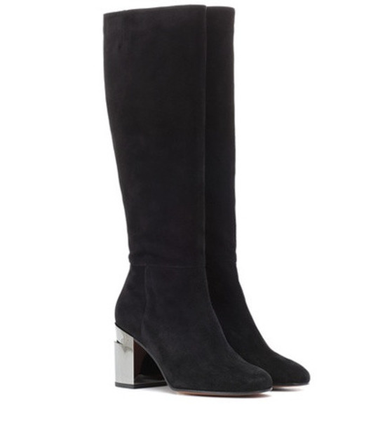 Clergerie Katrin suede boots in black