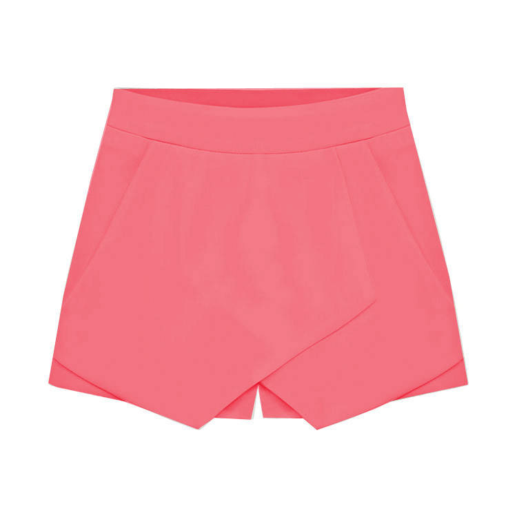"""field of dreams"" salmon skort shorts (4 colors available) – glamzelle"