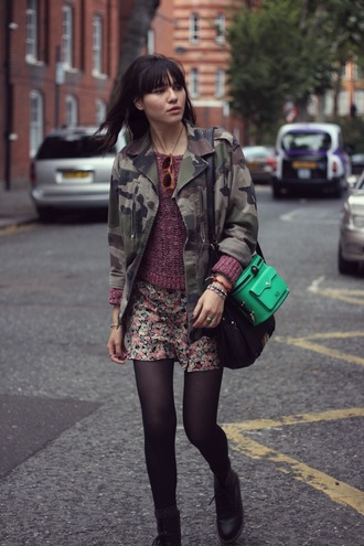 dress bag shoes jacket sweater natalie off duty