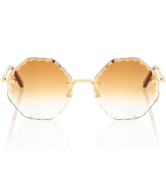 Chloé Rosie sunglasses in gold
