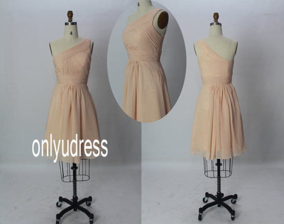 dress homecoming dress short dress peach dresses peach dress chiffon dress party dress evening dresses bridesmaid dress formal dresses formal dresses bridesmaid