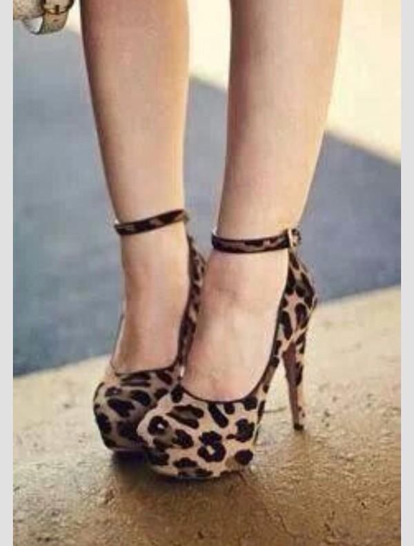 shoes leopard print leopard print cheetah print shoes heels pumps brown black cute leopardprintshoes leopard print high heels sexy platform high heels platform shoes formal ankle strap heels ankle strap heels ankle straps high heels