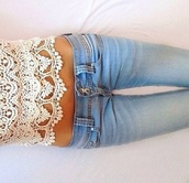jeans,blue,girly,beautiful,fashion,tights,zip,top