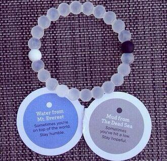 jewels bracelets casual bracelet black bikini black water dirt beads bracelet beaded white clear good bad girl girly meaning lokai bracelet everest jewelry