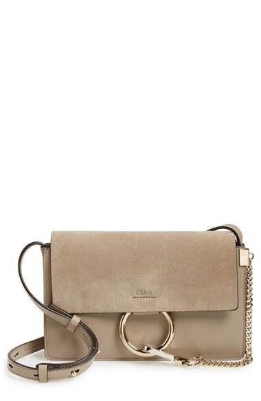 Chloé Small Faye Leather Shoulder Bag | Nordstrom