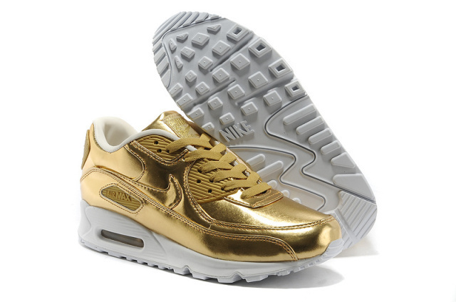 Fashion Men Shoes Air Max 90 Shoes Tyrant Gold Nike Air Max 90 Shoes On Sale
