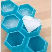 home accessory,home decor,diamonds,ice,blue,crushed ice tray,kitchen,beach house,instagram,ice cube,urban outfitters,frozen