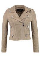 VMROYCE SHORT SUEDE JACKET PETITE - Leather jacket - silver mink @ Zalando.co.uk