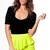 Green Mini Skirt - Neon High Waisted Pencil Skirt   UsTrendy
