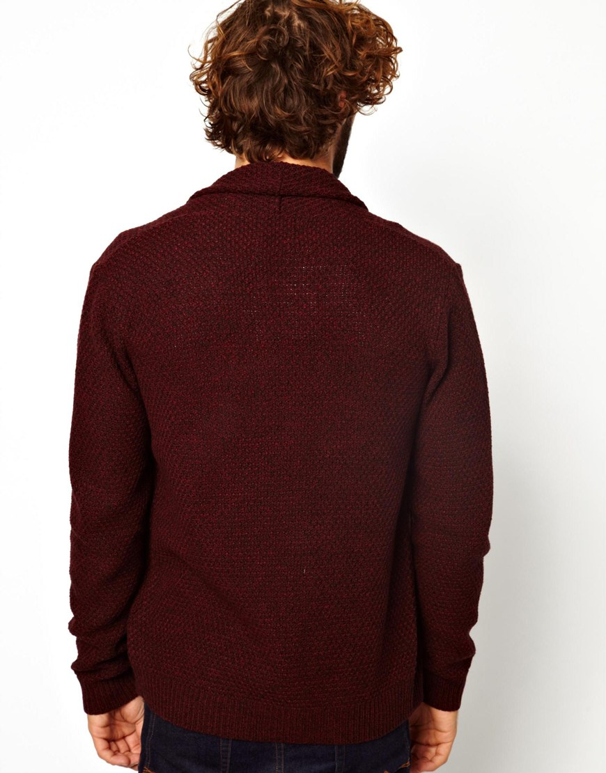 ASOS Cardigan in Textured Yarn at asos.com