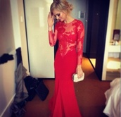 dress,red dress,lace dress,long sleeves,long sleeve dress,long dress,red,prom,prom dress,red prom dress,red lace dress,formal dress,formal gown,lace,formal,homecoming,long,red lace prom long sleeve,mermaid prom dress,long arm,samara weaving,blonde hair,tight,elegant dress,ball gown dress,long sleeve ball dress,see through,gown,lace prom dress,rouge,lace prom dress in red,long prom dress,red long sleeve prom dresss,red lace prom dress,red lace long formal