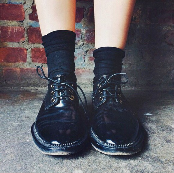 love hipster black indie loveit classic style shoes cool casual grunge soft grunge grunge shoes grunge black alternative fashion blogger vintage vibes style boss black boss