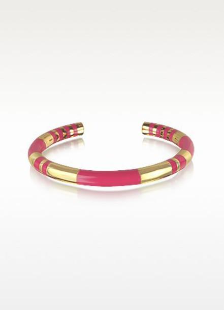 jewels aurelie bidermann bracelets bracelets gold bangle striped bangle