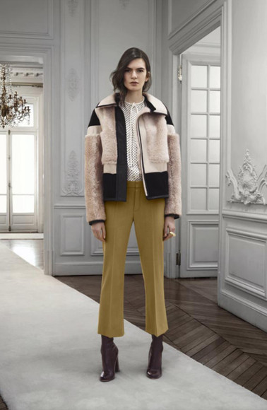 lookbook fashion chloé jacket