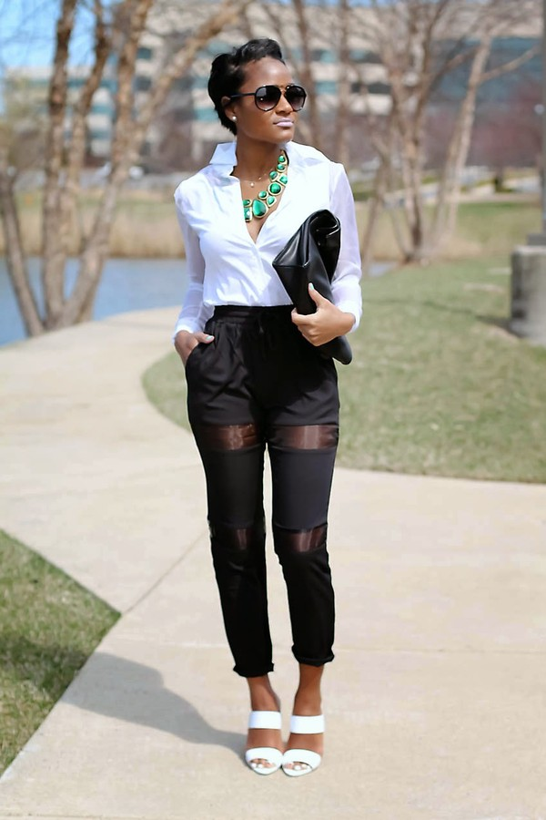 the daileigh t-shirt pants jewels bag shoes sunglasses