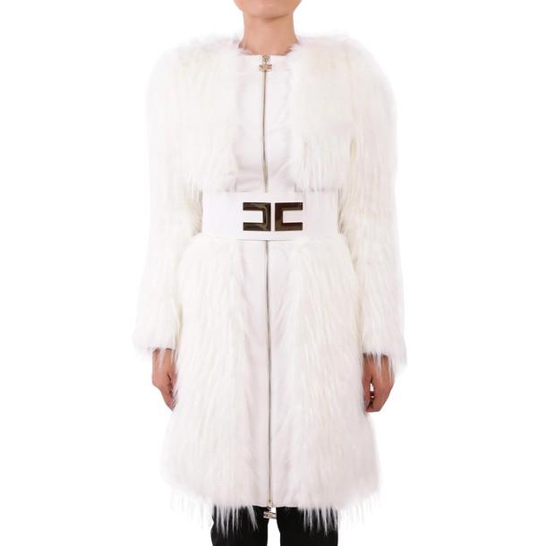 Elisabetta Franchi Celyn B. coat faux fur coat fur coat fur faux fur