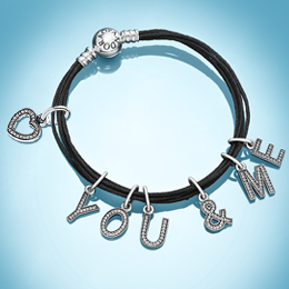 PANDORA | Discover PANDORA's new alphabet and symbol charms