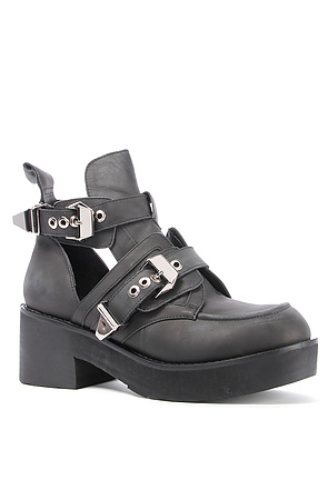 Jeffrey Campbell Boot Leather Cutout in Black -  Karmaloop.com