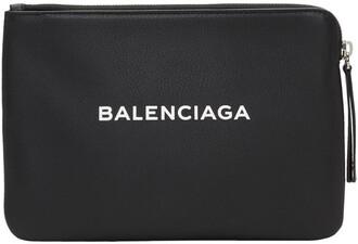 zip pouch black bag